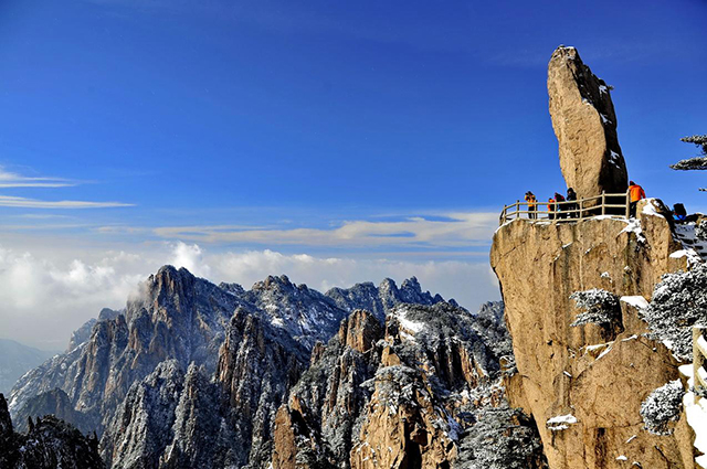 10 Most Beautiful Famous Mountains in China-Huangshan
