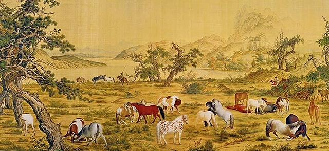 Top 10 Famous Chinese Paintings in Ancient China-Hundred Horses