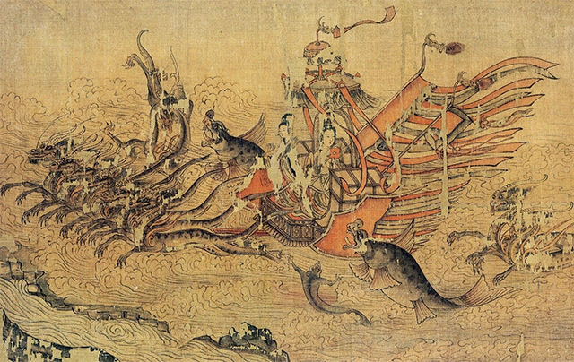 Top 10 Famous Chinese Paintings in Ancient China-Luo Shen Fu Tu
