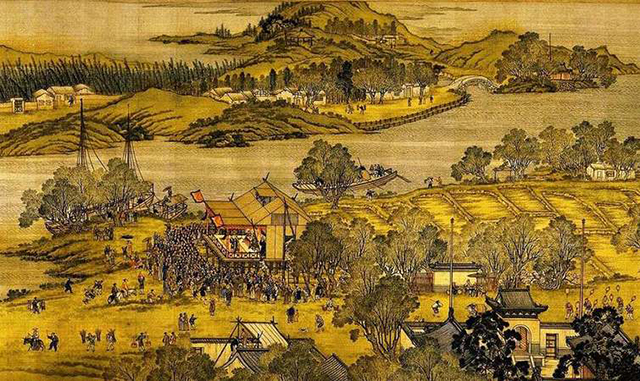 Top 10 Famous Chinese Paintings in Ancient China-Riverside Scene at Qingming Festival