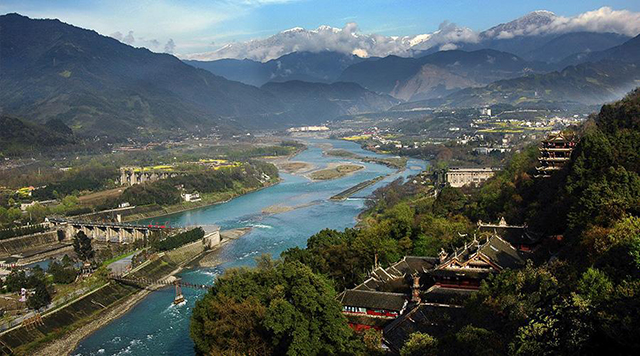 Top 10 Human Landscapes in China-Dujiangyan
