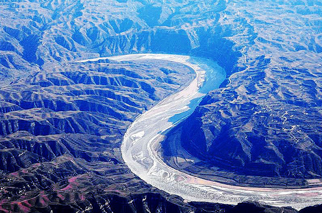 Top 10 Most Beautiful Canyons in China-Yellow River Jinshan Grand Canyon