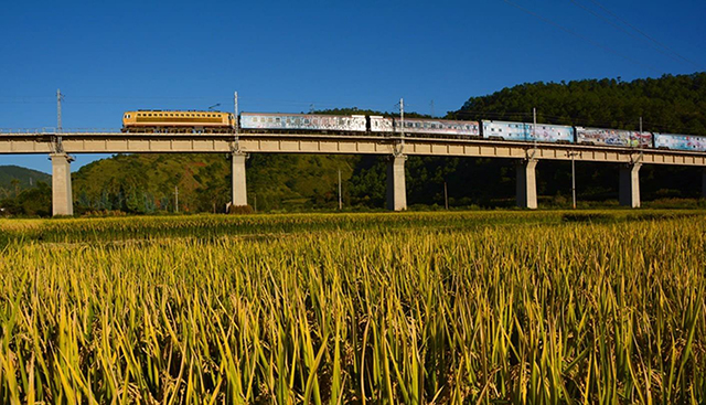 Top 10 Most Beautiful Railway Travel Routes in China-Dali Railway