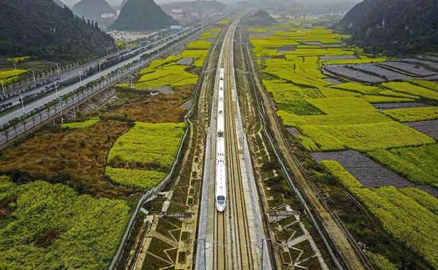 Top 10 Most Beautiful Railway Travel Routes in China-Shanghai-Kunming high-speed rail