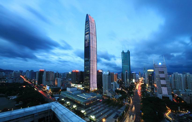 Top 10 Richest Cities in China-shenzhen