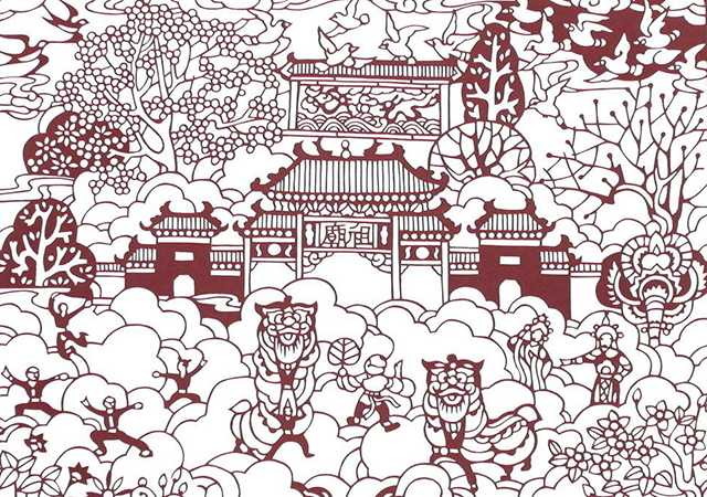 Top 10 Folk Arts in China-Paper cutting