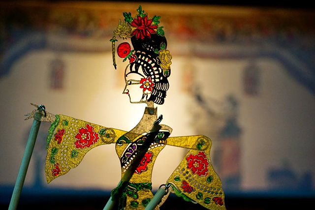 Top 10 Folk Arts in China-Shadow play
