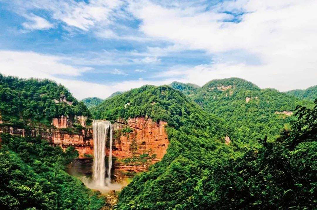 Top 10 Most Beautiful Forest Parks in China-Simian Mountain National Forest Park