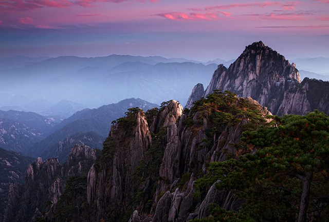 Top 10 Scenic Spots in China-huangshan