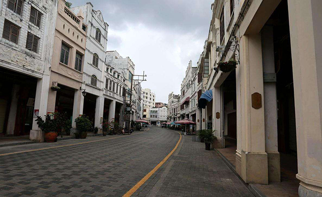 Top 10 Historical And Cultural Streets in China-Haikou Arcade Old Street