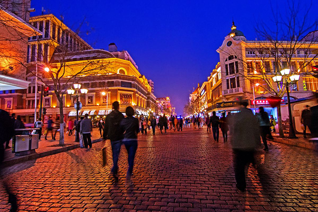 Top 10 Historical And Cultural Streets in China-Harbin Central Street