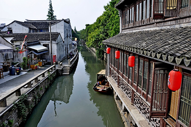 Top 10 Historical And Cultural Streets in China-Suzhou Pingjiang Road
