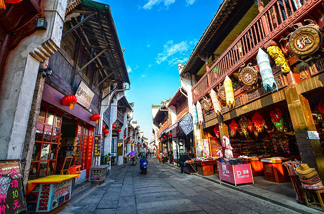 Top 10 Historical And Cultural Streets in China-Tunxi Old Street