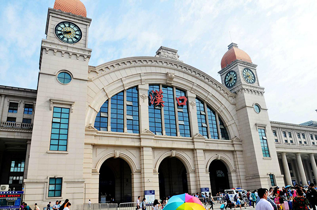 Top 10 Most Beautiful Railway Stations in China-Hankou Railway Station