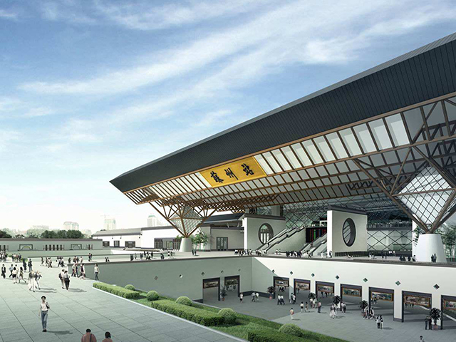 Top 10 Most Beautiful Railway Stations in China-Suzhou Railway Station