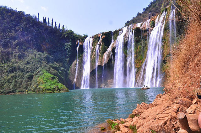 China's Top Ten Waterfalls-Yunnan Luoping Jiulong Waterfall Group