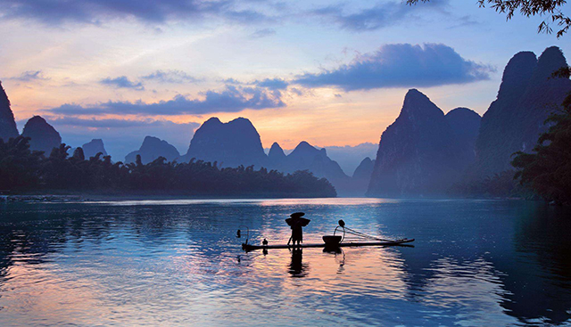 China's Four Natural Wonders-Guilin Scenery