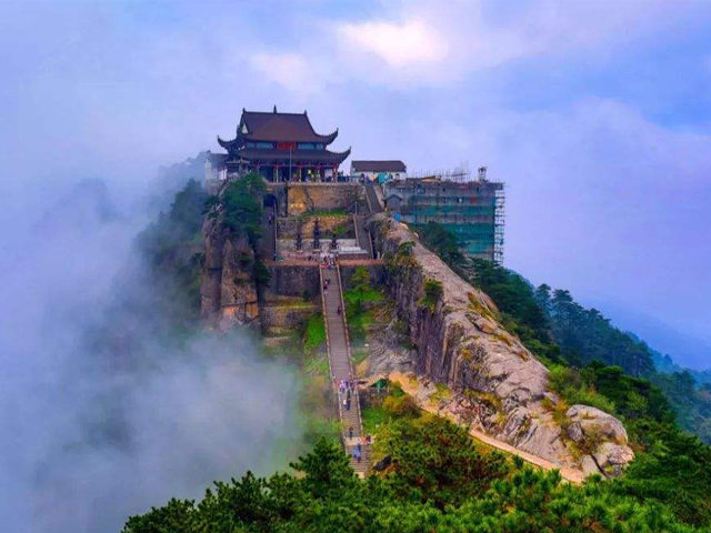 Four Famous Mountains of Buddhism in China