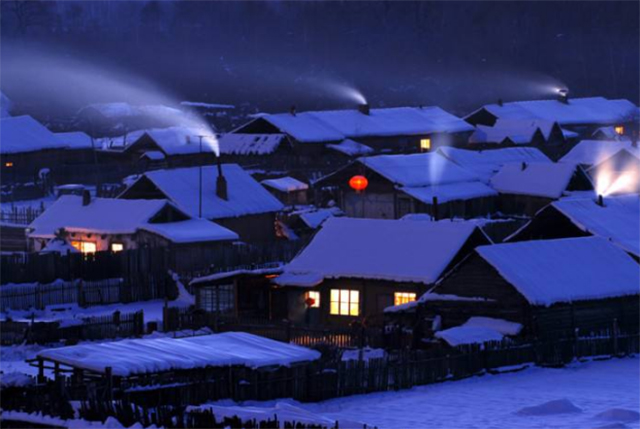 Top 10 Tourist Attractions in Heilongjiang-Mohe Arctic Village Tourist Area
