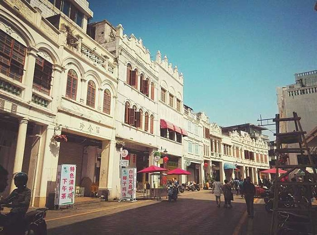 Top 10 Historical Streets in China-Haikou Qilou Old Street