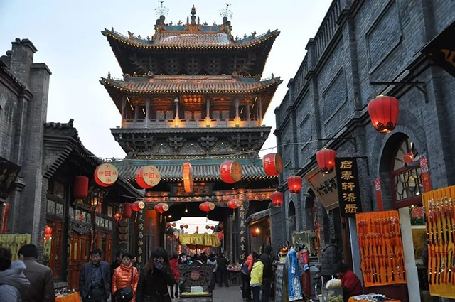 Top 10 Historical Streets in China-Pingyao South Street
