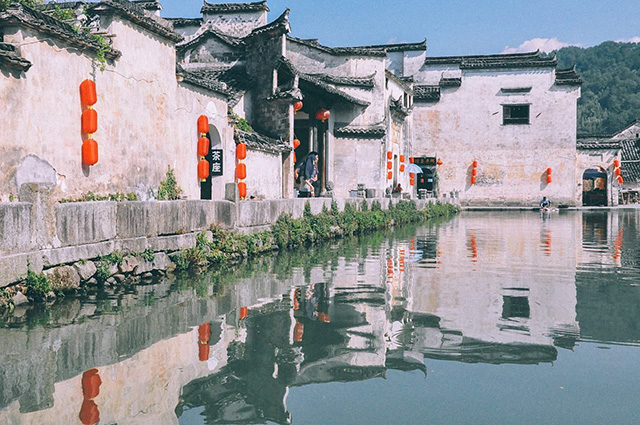 Top Ten Most Beautiful Villages in China-Xidi Hongcun