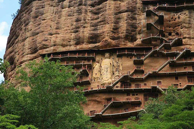 Four grottoes in China-Maijishan Grottoes