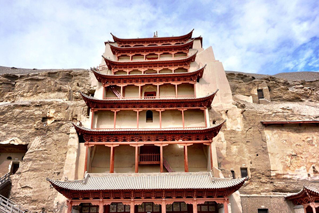 Four grottoes in China-Mogao Grottoes