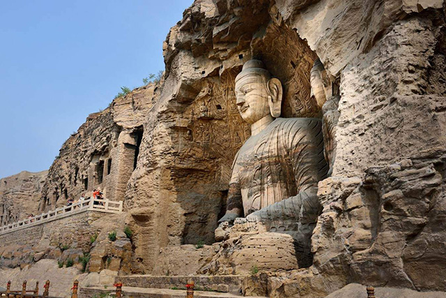 Four grottoes in China-Yungang Grottoes