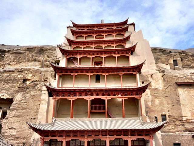 Four grottoes in China