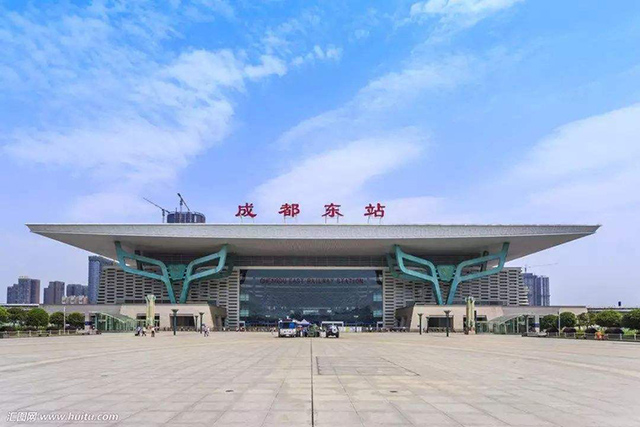 Top 10 Railway Stations in China-Chengdu East Railway Station
