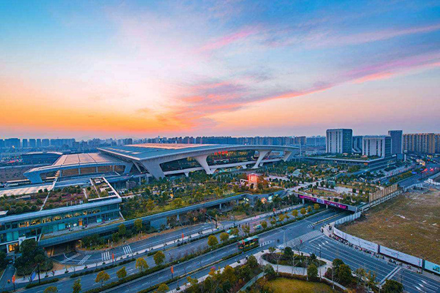 Top 10 Railway Stations in China-Hangzhoudong Railway Station