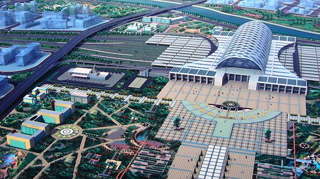 Top 10 Railway Stations in China-Tianjin West Railway Station
